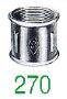 MANCHON 270 FF GALV 3/8