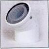 COUDE 45 PP120/ALU BL 80/125