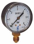 MANO GAZ 0-60 MBAR D63 1/4
