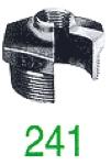 "REDUCT MF 241 NOIR 6/4X1"""