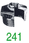 "REDUCT MF 241 GALV 2""X6/4"