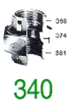 RACC UNION 340 FJC NOIR 1/4