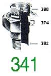 RACC UNION 341 MFJC GALV 1/4