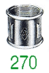 MANCHON 270 FF GALV 5/4