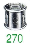 MANCHON 270 FF GALV 6/4
