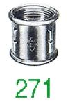 MANCHON 271 GD NOIR 3/4