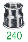 "MANCHON 240 FF GALV 2""1/2X2"""