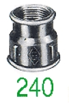 "MANCHON 240 FF GALV 2""X1"""