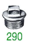 BOUCHON B 290 GALV 1/8