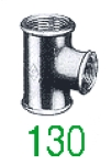 """TE 130 GALV 2""""1/2X2""""X2""""1/2"""